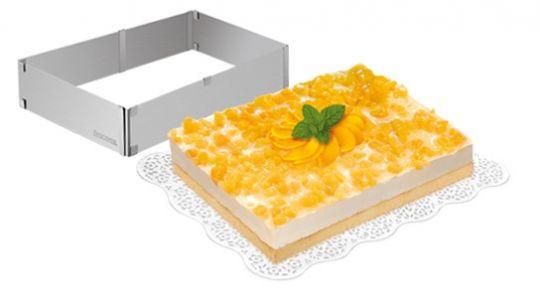 Tescoma Форма  для торта и кекса раскладная  DELICIA прямоугольная 623382