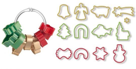 Tescoma Формочки для рождественского печенья DELICIA, 13 шт. 630902
