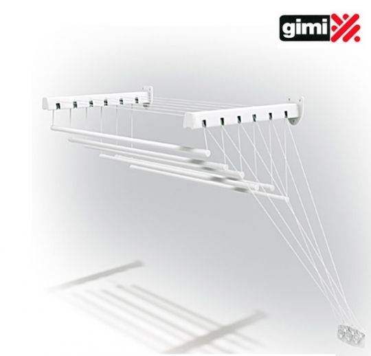 GIMI lift 100 Сушилка для белья потолочная и настенная 6 метров