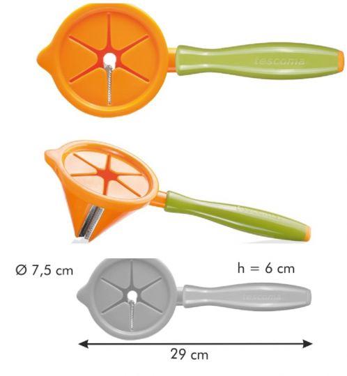 TESCOMA Приспособление для нарезки овощей полосками PRESTO CARVING 422060
