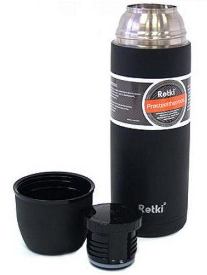 Термос Retki PRO 0,75 л черный матовый