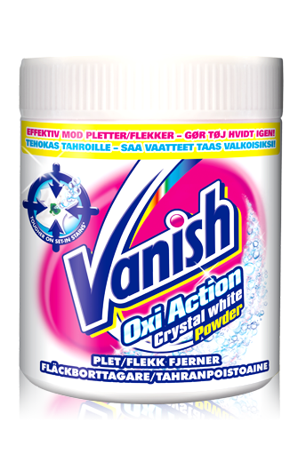 Vanish Oxi Action для белого белья