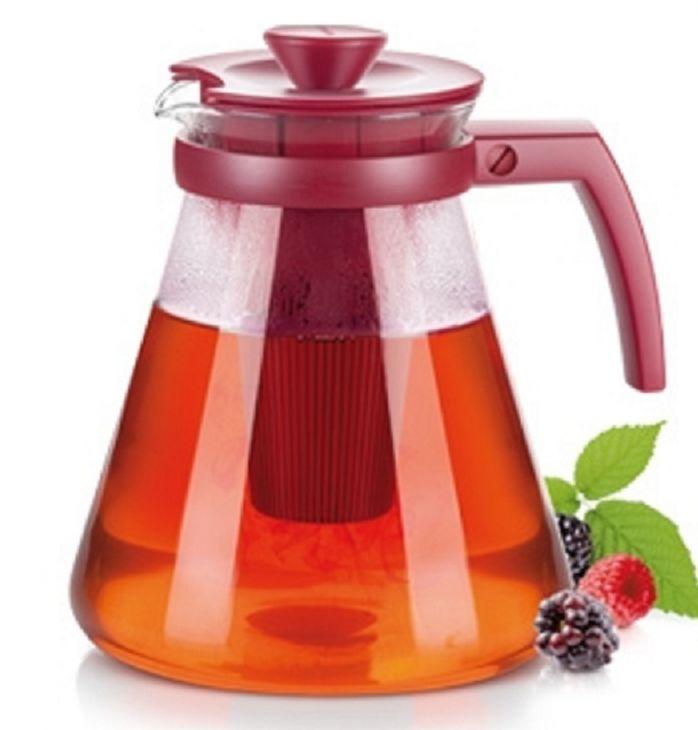 Tescoma Стеклянный чайник TEO TONE 1,7 л, с ситечками для заваривания  646625