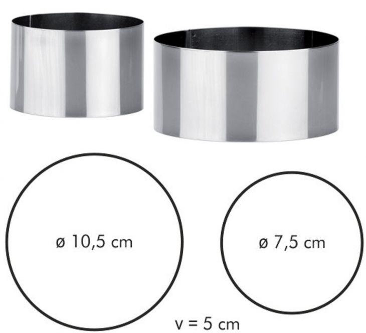TESCOMA Формочки для придания формы продуктам CHEF 2 шт 428260