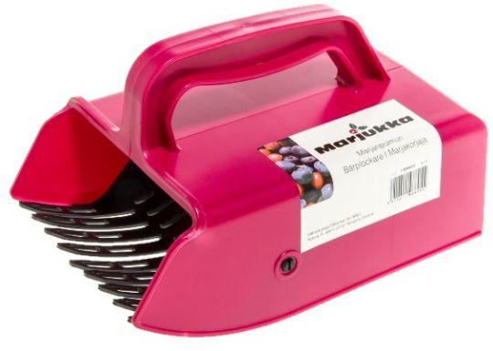 Комбайн для сбора ягод с пластмассовой гребёнкой