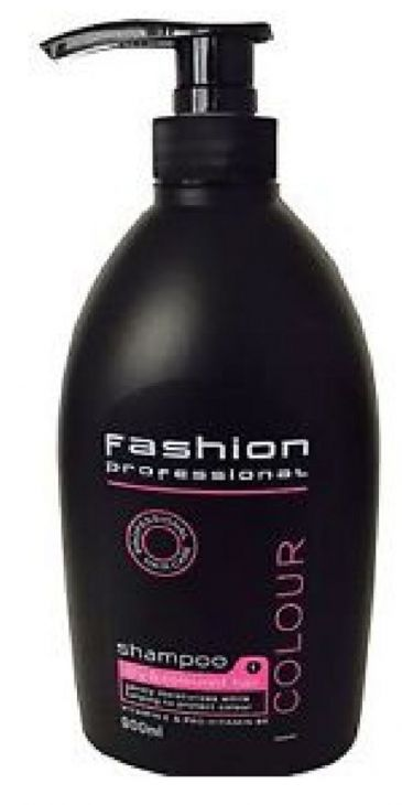 Fashion color шампунь для окрашенных волос 900 мл