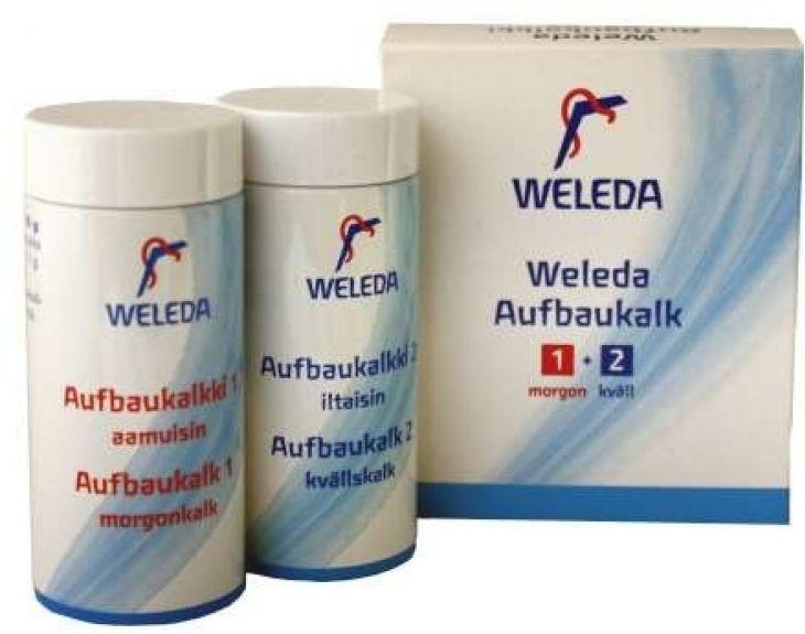Weleda Aufbaukalk 1 + 2