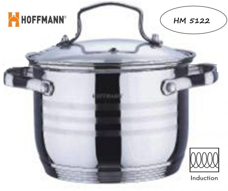 Кастрюля 5,1 л HOFFMANN HM 5122