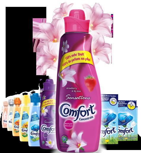 Comfort concentrat 750 клубничный аромат